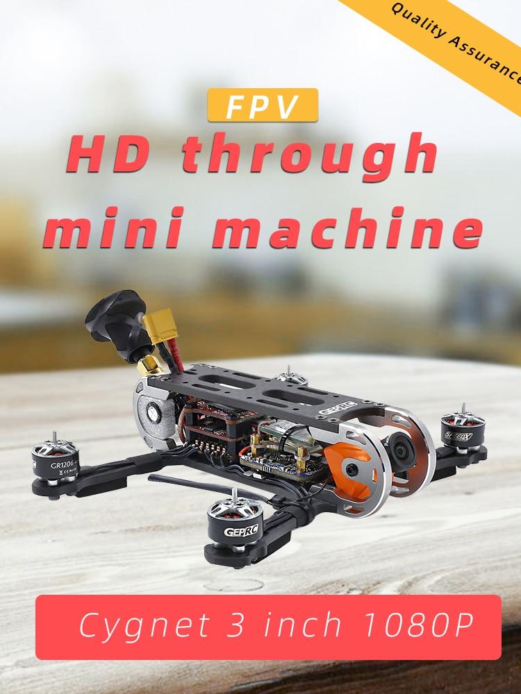 GEPRC GEP CX Cygnet 145mm 3 Inch Stable F4 20A 48CH RunCam Split Mini 2 1080P HD Camera 4500kv Motor RC FPV Racing Drone BNF PNP