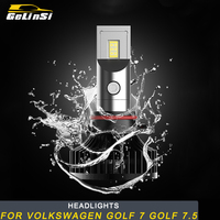 Gelinsi For Volkswagen Golf 7 Golf 7.5 Car Styling Front Light Headlights Assembly LED Lamp