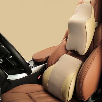 Premium Auto Supporto Lombare Del Sedile Set Ergonomico Confortevole Gomma Piuma Di Memoria Cuscino Allevia Il Dolore Sciatica Divano Divano Di Lettura Più Basso