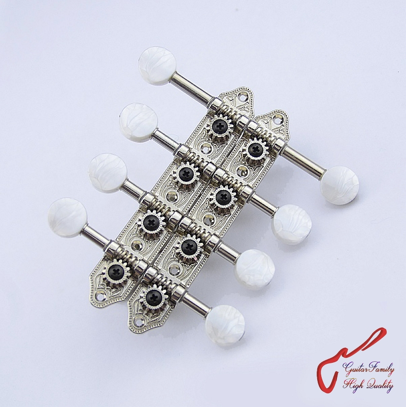 1 Set GuitarFamily Mandolin Guitar Machine Heads Tuners Nickel ( #0653 ) MADE IN Korea виброплита реверсивная zitrek cnp 330а 1
