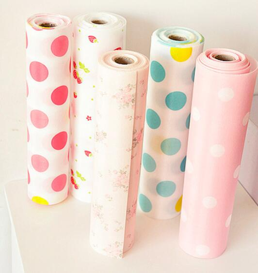 Antibiotic Print kitchen Cabinet Pad Household Moisture-proof Drawer Pad Slip-resistant Waterproof Wardrobe Paper
