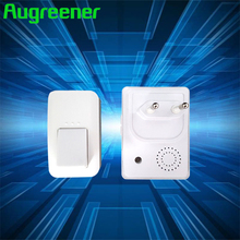 Augreener 433MHz Kinetic Wireless Doorbell No Battery AC 240V Home Door Bell 38 Ring Tones Waterproof