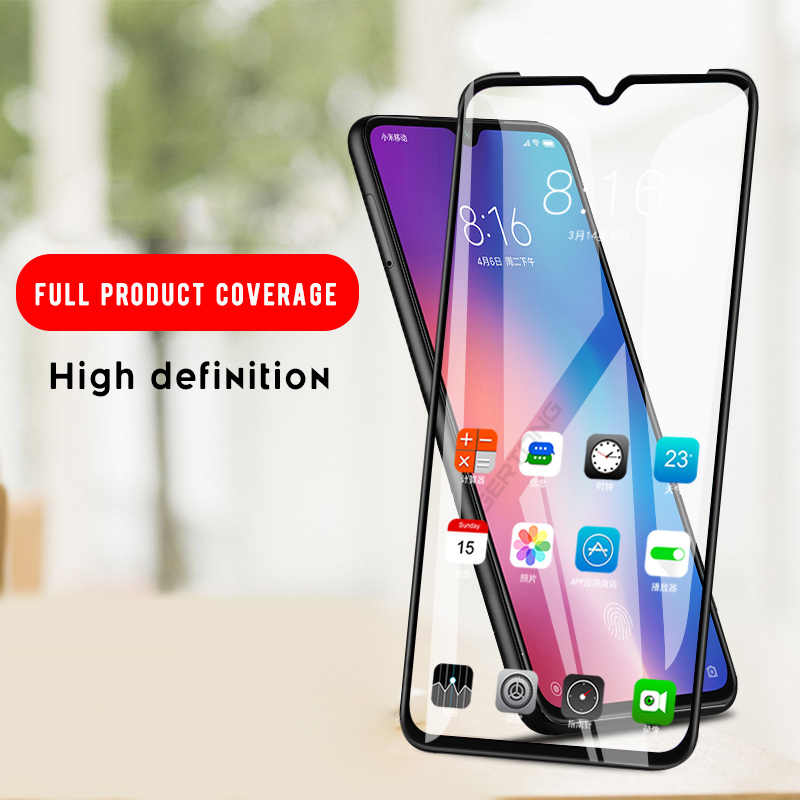 Full Cover Screen Protector Glass For Xiaomi Mi A3 A2 cc9 cc9e Mi 9t Pro 9 se Mi9 t Mi9t CC9mt Meitu Edition 3D Tempered Glass