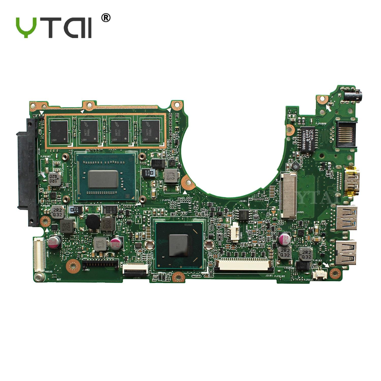 все цены на YTAI 1007U 4G mainboard for ASUS Q200E X201E S200E X202E laptop motherboard REV:2.0 with 1007U 4G RAM mainboard fully tested онлайн