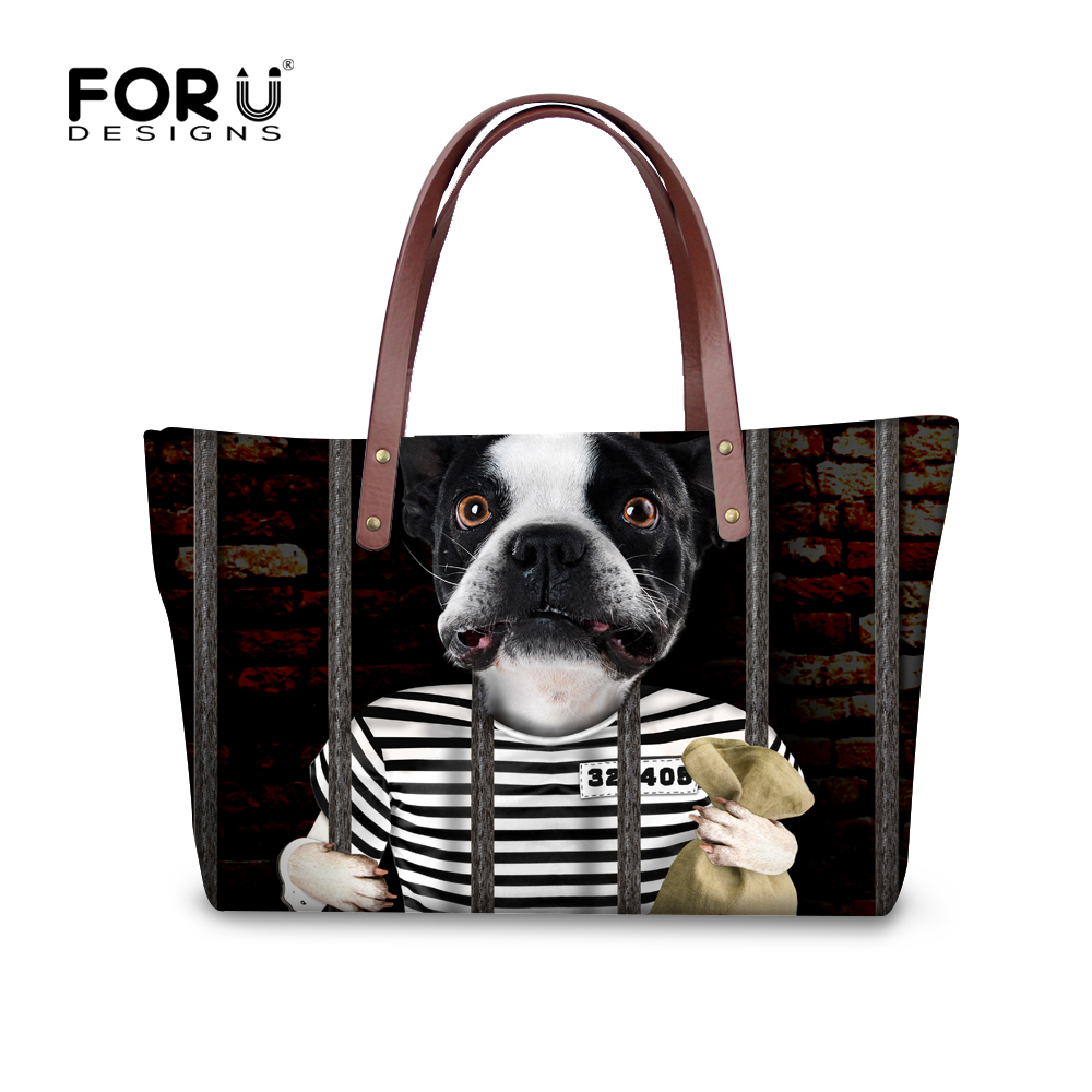ФОТО Unique summer large women handbag 3d dog printed single shoulder crossbody bag for ladies luxury famous waterproof tote kawaii