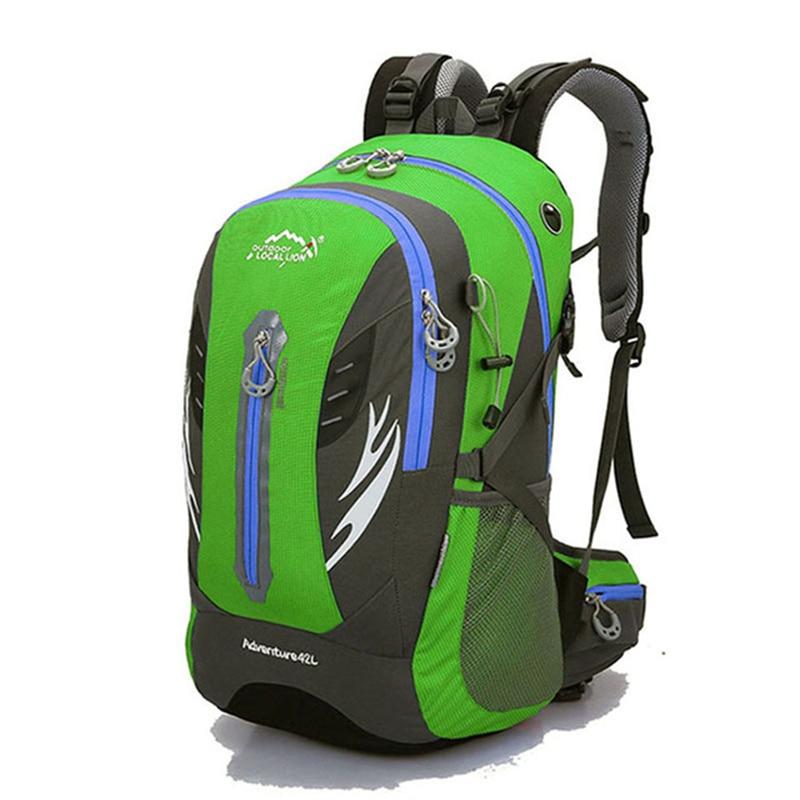 42L High Capacity Backpack Diaper Backpacks High Quality Nylon knapsack Bags For Women Men Travel Package Multiple Usage