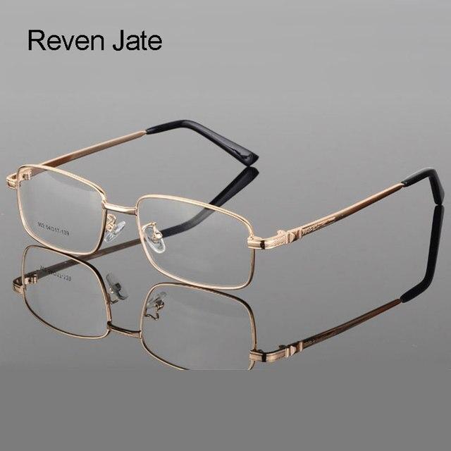 Reven Jate 処方合金光学眼鏡フレーム 4 オプション色眼鏡送料アセンブリと処方レンズ