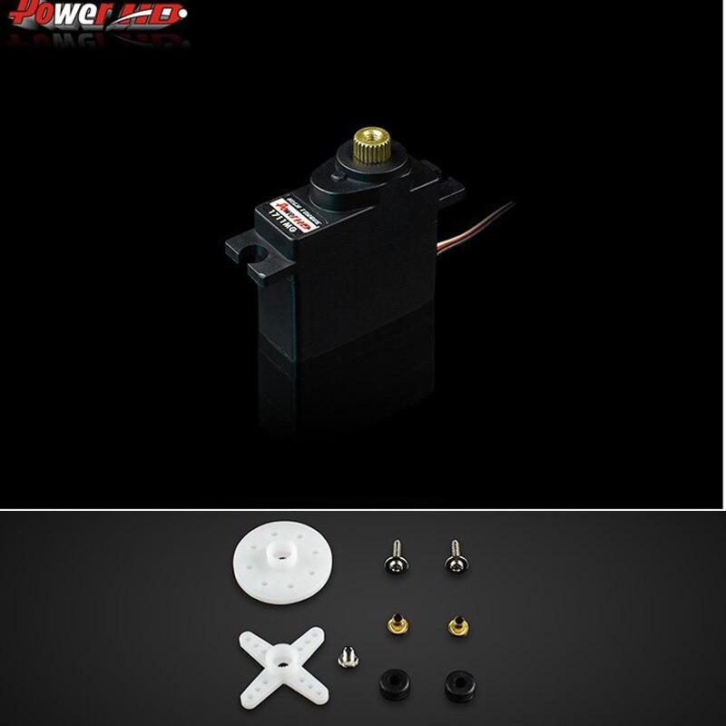 free shipping!! 100% orginal Power HD RC Analog Servo HD-1711MG RC Servo Mini Size High Torque Servo 17G 3.5KG jx pdi 5521mg 20kg high torque metal gear digital servo for rc model