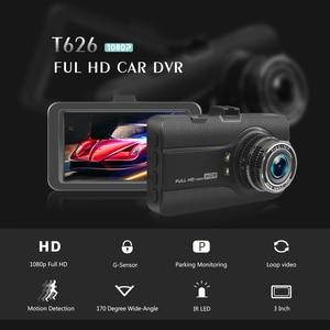 Image 2 - 3 pulgadas Full HD 1080P cámara de coche DVR conducción coche grabadora vehículo Dashcam Video registrador visión nocturna G  sensor Dash Cam DVRs