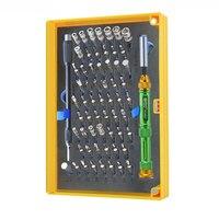 Magnético bit driver kit 63 em 1 ferramentas de reparo kit Profissional Multifuncional chaves de fendas set para iPhone  Mac  Laptop