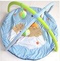 Alfombra música juguetes, marco de la aptitud musical 0-1 años de edad bebé gateando alfombra alfombra game pad