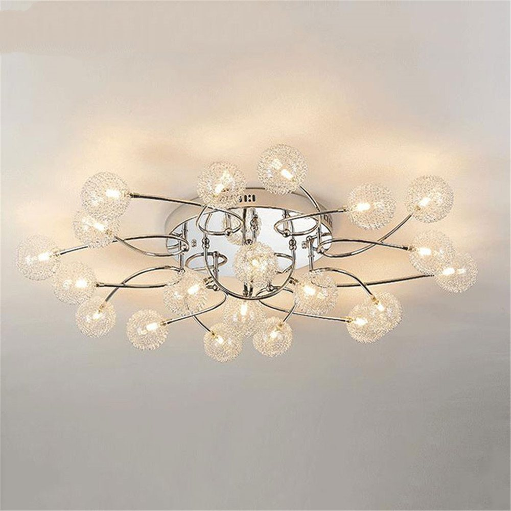 Ceiling Lamp Modern Lutres Led Lamp G4 Aluminum Wire Ceiling Lights ...