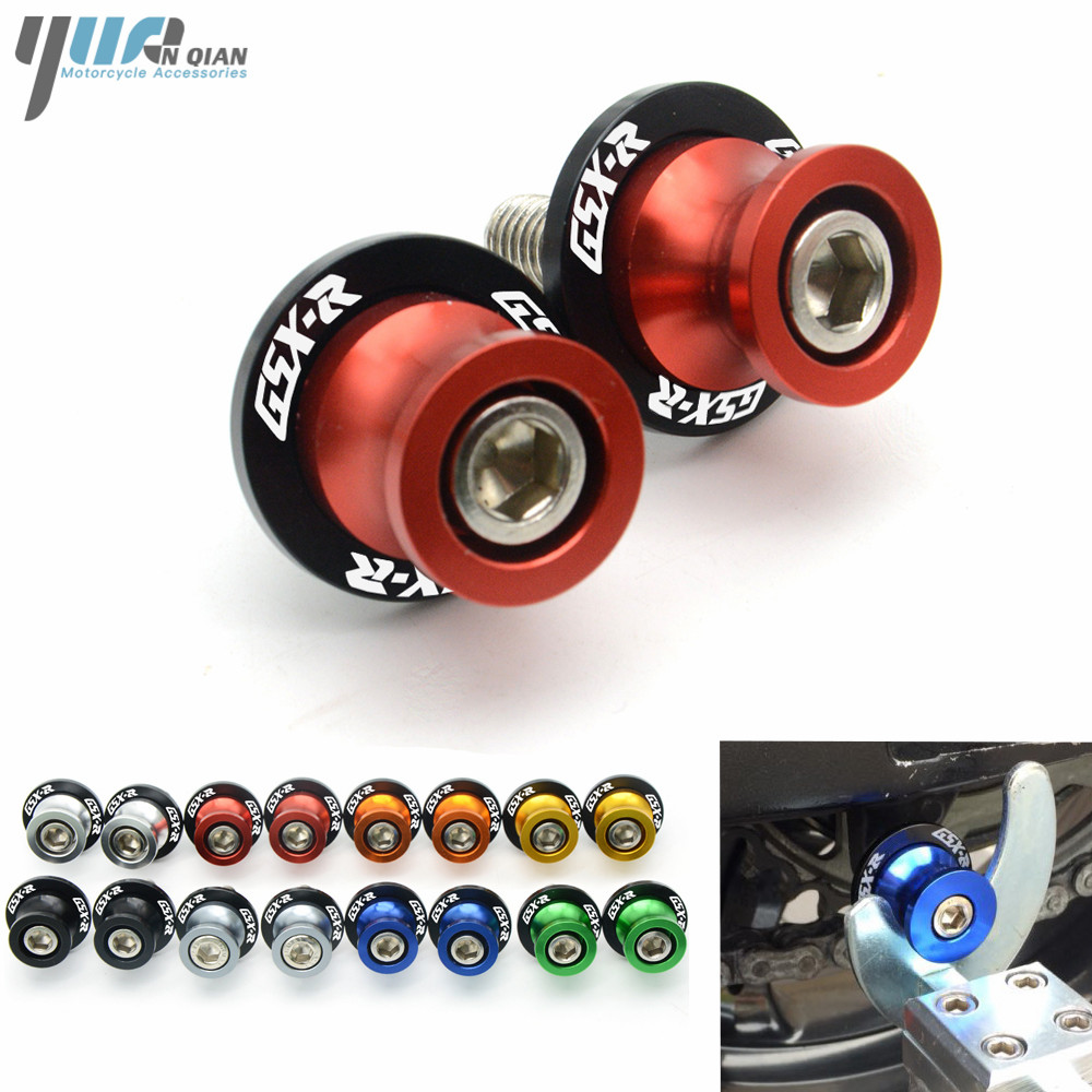 Motorcycle accessories Motorcycle CNC Swingarm Sliders Spools For SUZUKI GSXR 2006 GSXR 600 K6 GSXR 750 GSXR 1000 K7 K9 GSXR1000