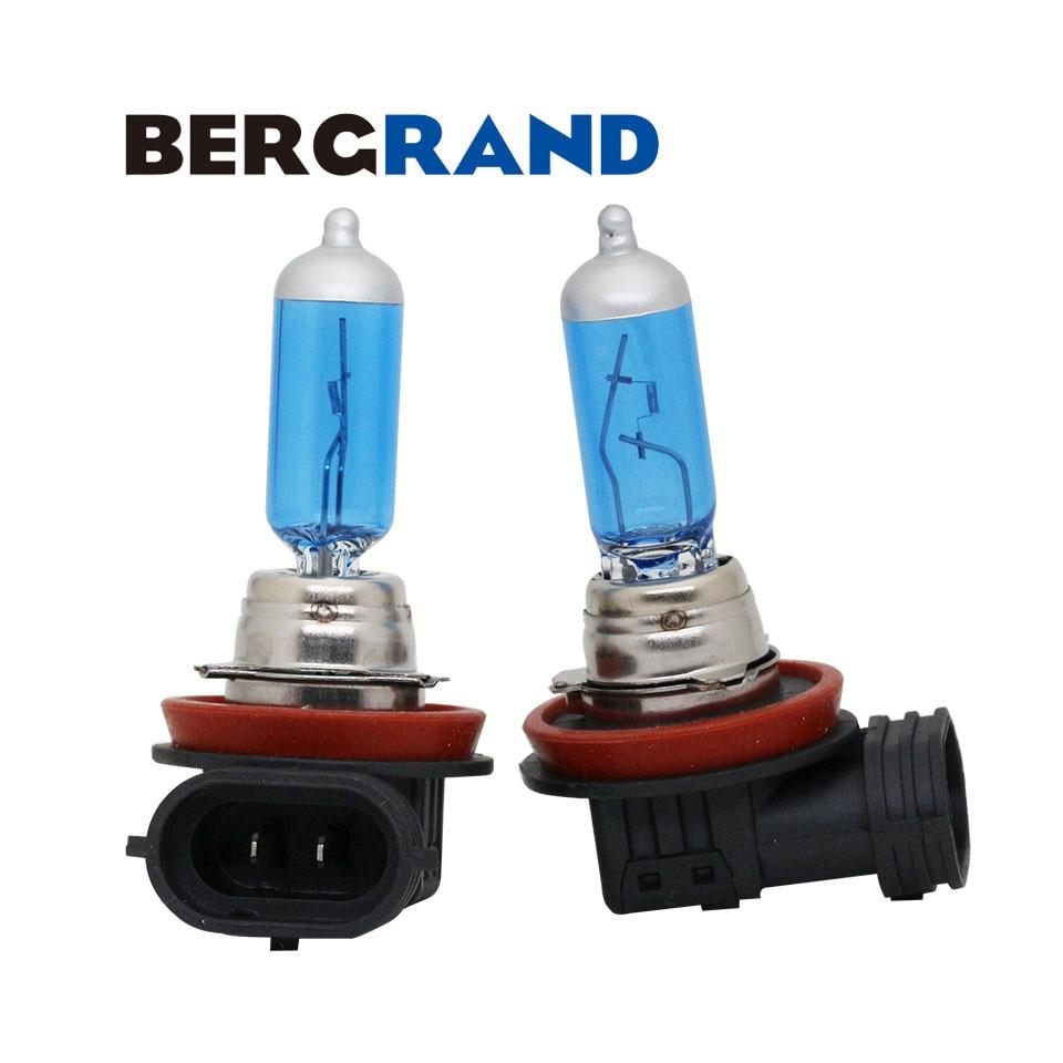 H16 12V 19W halogene svjetiljke za maglu Xenon 4300K žarulja super bijela PGJ19-3 UV žarulje za automatsko zatvaranje 2PCS