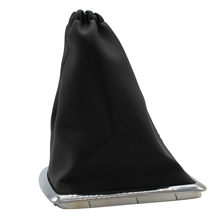 Pookknop Shifter Gaiter Boot Cover Voor 2005-2012 Ford Focus-Nieuwe Black Leather Gear Shift Stick gaiter Boot # H(China)