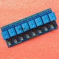 1 unids Con optoacoplador 8 canales tarjeta de control del relé del módulo panel PLC módulo de relé de 5 V
