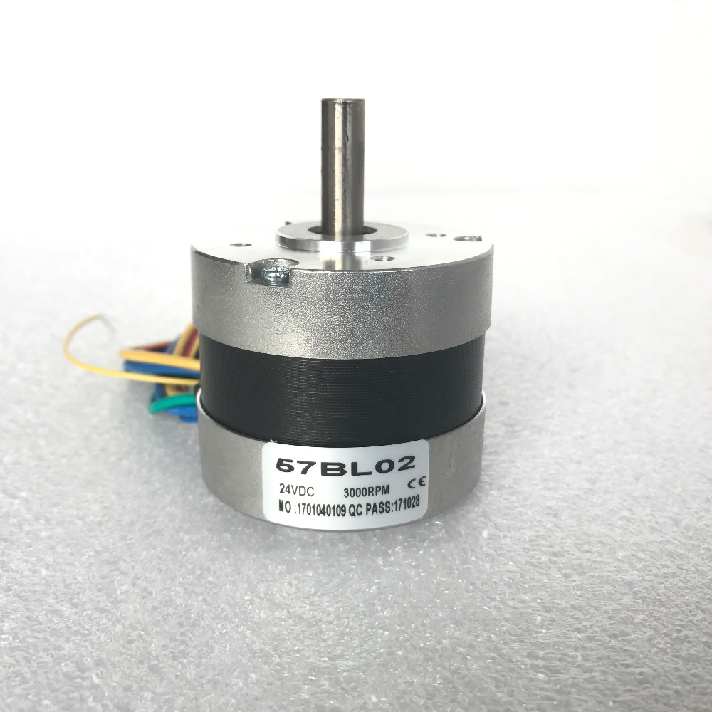Brushless <font><b>motor</b></font> DC 57BL02 for Car Peristaltic pump 3 Phases 34W/24V <font><b>3000RPM</b></font> LONGS <font><b>MOTOR</b></font> image