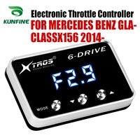 Auto Elektronische Drossel Controller Racing Gaspedal Potent Booster Für MERCEDES BENZ GLA CLASSX156 2014 2019 Tuning Teile-in Auto-elektronische Drossel-Controller aus Kraftfahrzeuge und Motorräder bei
