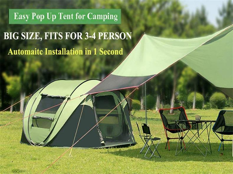 throwing camping tent large 3-4 peson07