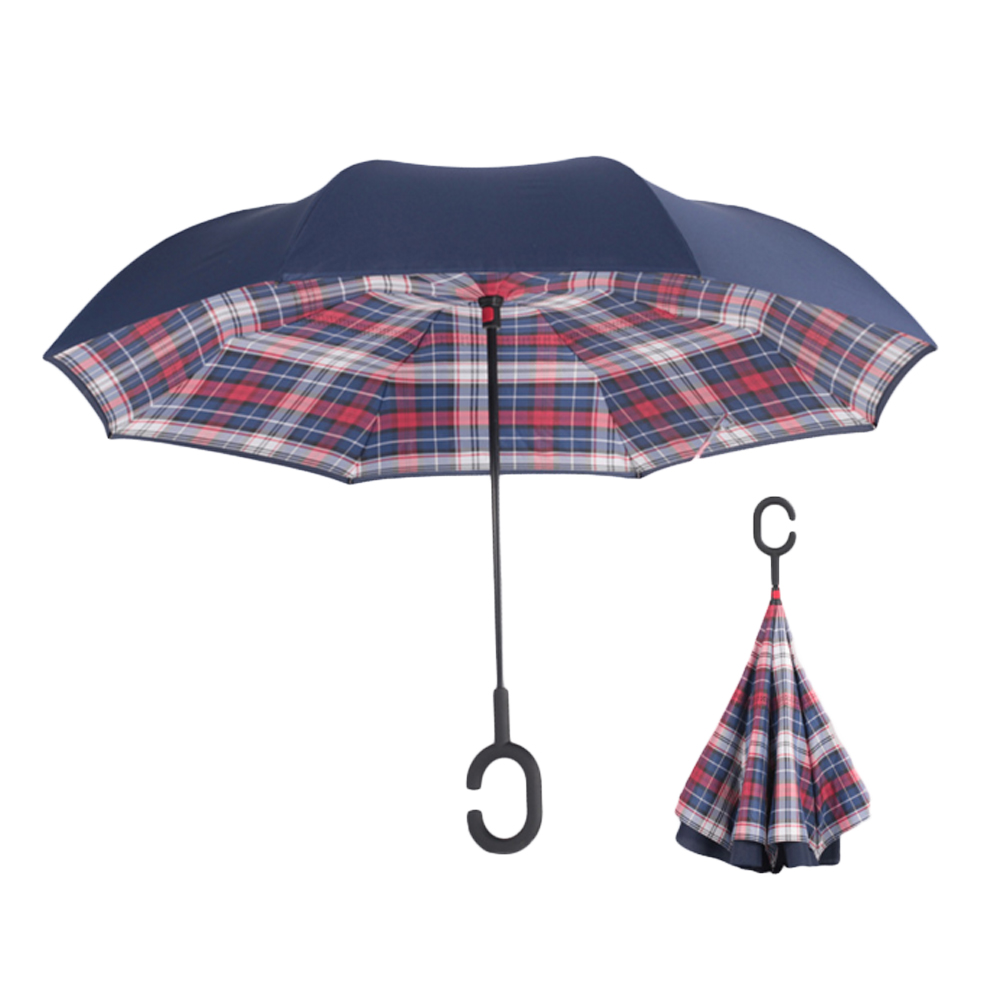 Silkclo New Windproof / Uv Protection Reverse Umbrella - Haushaltswaren - Foto 4