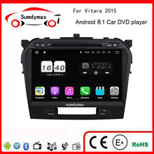 2gb ram 4G lite Android 78.1 Car DVD for suzuki grand vitara 2015 autoradio headunits stereo player dvr tape recorder multimedia(China)