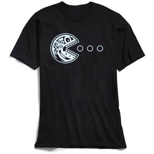 Men T Shirt Pac Robot Skull X-ray Printed Unique Tshirt Short Sleeve Tops T-Shirts Punk Cheap Crew Neck 100% Cotton Streetwear new arrival ricken 4003 4 string bass guitar through neck around binding in wine top quality 160401