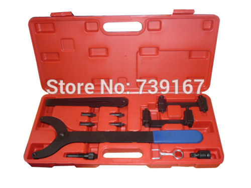 Engine Camshaft Crankshaft Locking Alignment Timing Tool Kit For Audi A2 A3 A4 A6 A8 2.4/3.2L V6 FSI ST0169 engine camshaft alignment timing tool kit for audi vw 2 0l fsi tfsi