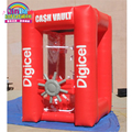 2016 One of the hot cake inflatable promotion toys atm money machine money booth