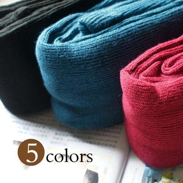 Meia-calça Nova Apressado Importado Cor Puro Renda Sólida Meias 2016 Meias de Inverno Meias De Lã de Tricô Quente