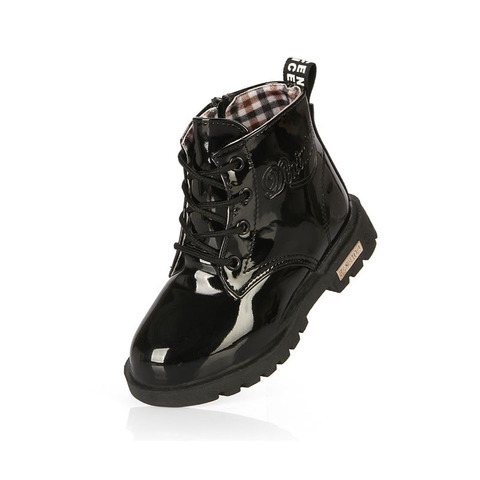 Kids Shoes girls Boys  PU Leather  Lace Up High Children Sneakers girl Baby Shoes Sport Autumn Winter Children Shoes Multan