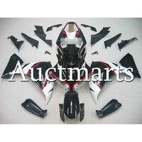 Инъекций черный глянцевый белый ABS Пластик обтекателя Для Yamaha R1 2012 2013 2014 год YZF1000 12 13 14 мотоциклетные капоты