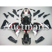Injection Glossy White Black ABS Plastic Fairing For Yamaha R1 2012 2013 2014 Year YZF1000 12 13 14 Motorcycle Cowlings