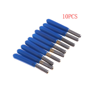 Image 3 - 10Pcs 3.175mm Carbide PCB Engraving Bits CNC Router Tool 10 Degrees 0.1mm