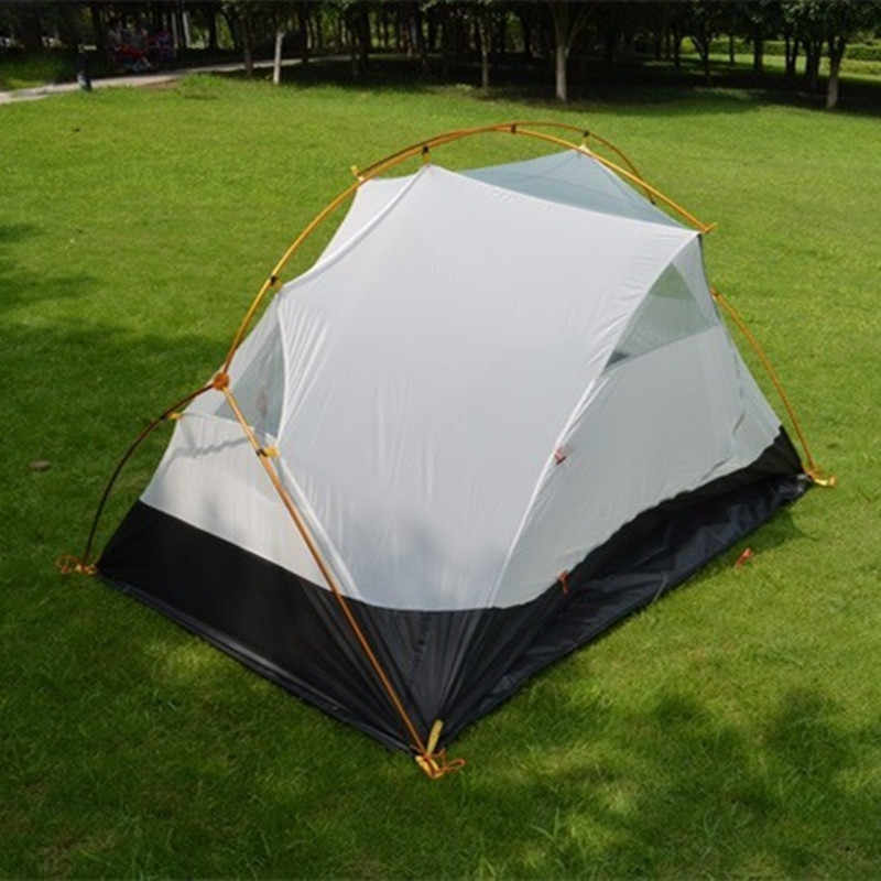 3F ul Gear 4 saison 2 personnes tente évents ultra-légers Camping tente corps pour mme Hubba tente intérieure