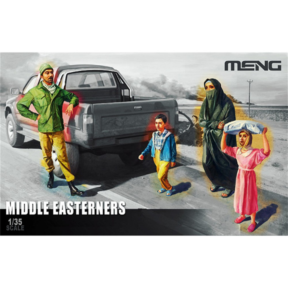 OHS Meng HS001 1/35 Middle Easterners in the Street 4 figures Miniatures Assembly figures Model Building Kits ohOHS Meng HS001 1/35 Middle Easterners in the Street 4 figures Miniatures Assembly figures Model Building Kits oh
