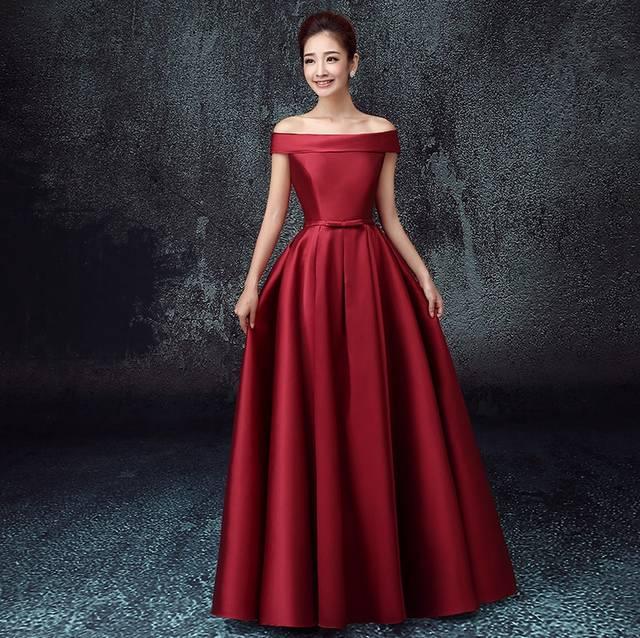 placeholder vestidos de festa vestido longo para casamento2018 New Satin  Boat Neck Cap Sleeve a Line Coral 0a1826b6d3d9