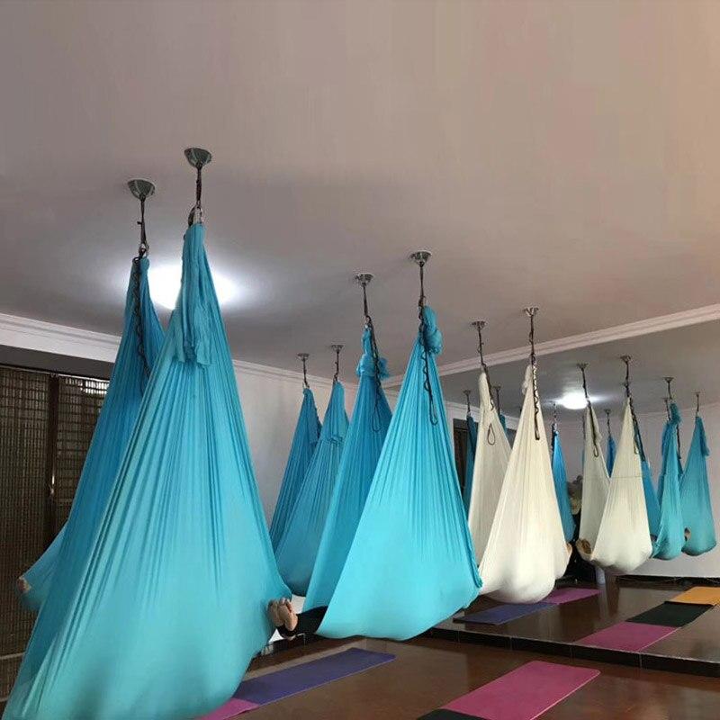 Aerial Anti-gravity 5*2.8M Yoga Hammock Nylon Sling Yoga Hammock High-altitude Sling Stretch Belt Yoga Strap Yoga Accessories yantra yoga
