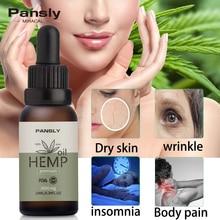 10ml Essential Oils Organic Hemp Seed Oil 3000mg Herbal Drops Body Relieve Stress Skin Care Help Sleep