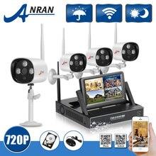 """Anran Plug And Play 7 """"Pantalla LCD de $ NUMBER CANALES CCTV Sistema NVR Kit 720 P HD Al Aire Libre de Vigilancia de Seguridad Inalámbrica WIFI IP Cámara 1 TB HDD"""