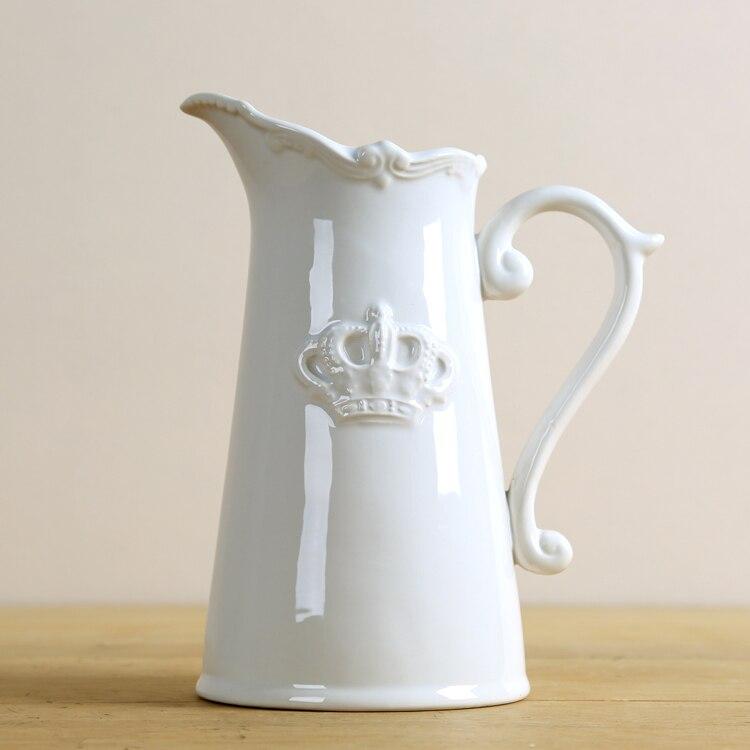Toys & Hobbies Steady 1pcs Dollhouse Decorative Porcelain White Ceramic Vase 1:12 Mini Miniature Accessories Fine Quality