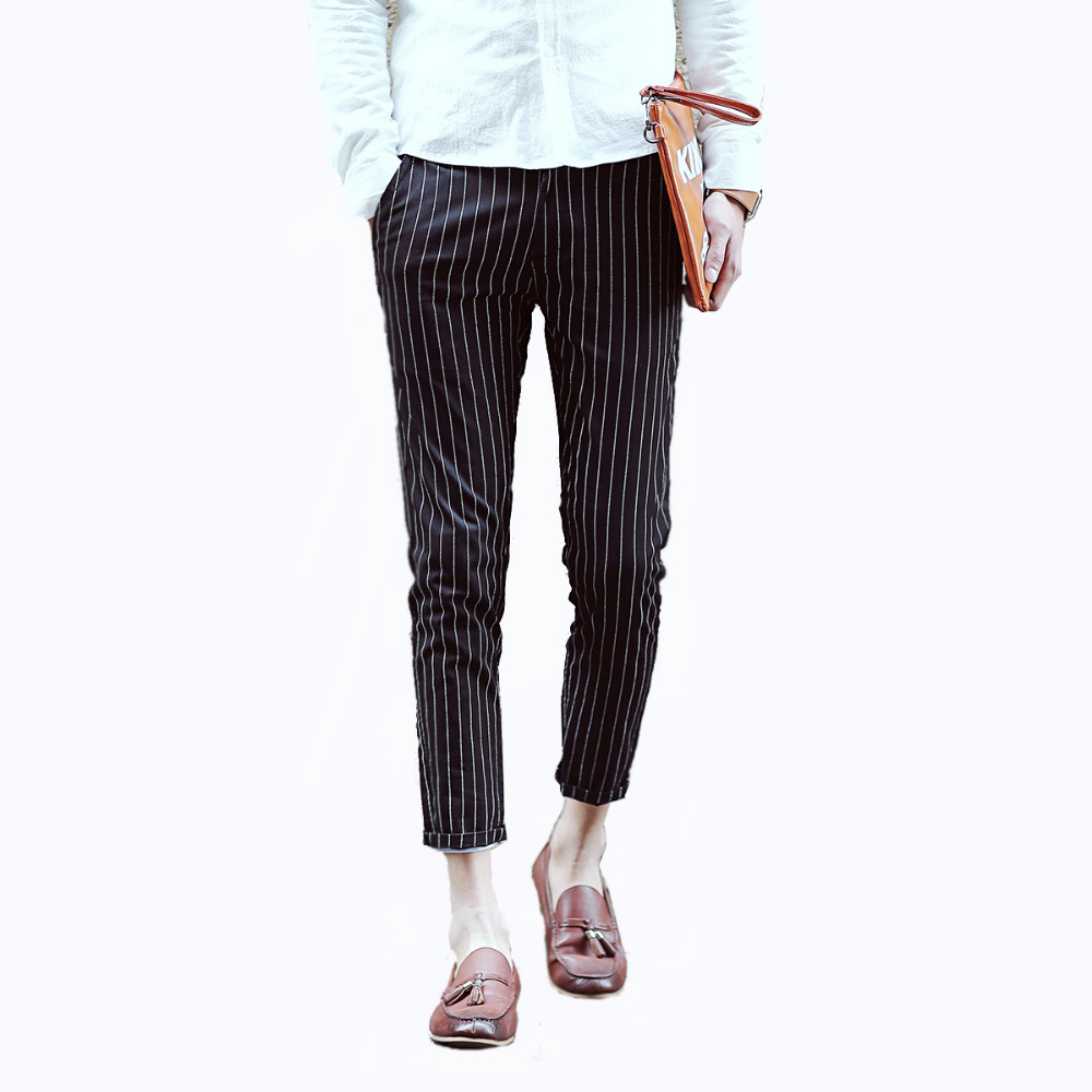 Popular Mens Black And White Striped Pants-Buy Cheap Mens Black And White Striped Pants Lots ...