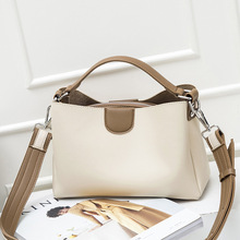 Spring new Messenger Bag Cute Wild Version of the Slung Shoulder small Square Crossbody Trend Women Contrast Color Handbags
