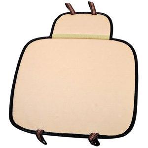 Image 3 - Car seat cushion car interior faux Leather Soft Car seat cover set Pad Mat Chair Cushion for Car