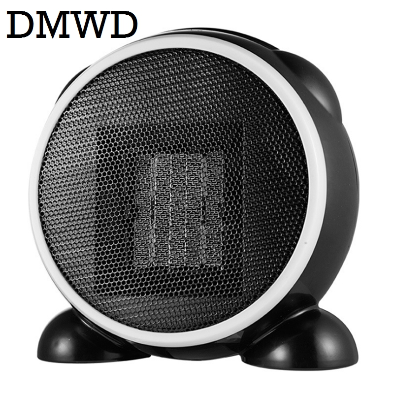 DMWD Electric Heaters Portable MINI Personal Ceramic heater Warm Air Blower Winter warmer Radiator desktop Thermal Fan 110V 220V mini electric heaters red handy air heater warm air blower office home desktop warm fan heater for warm winter heating device