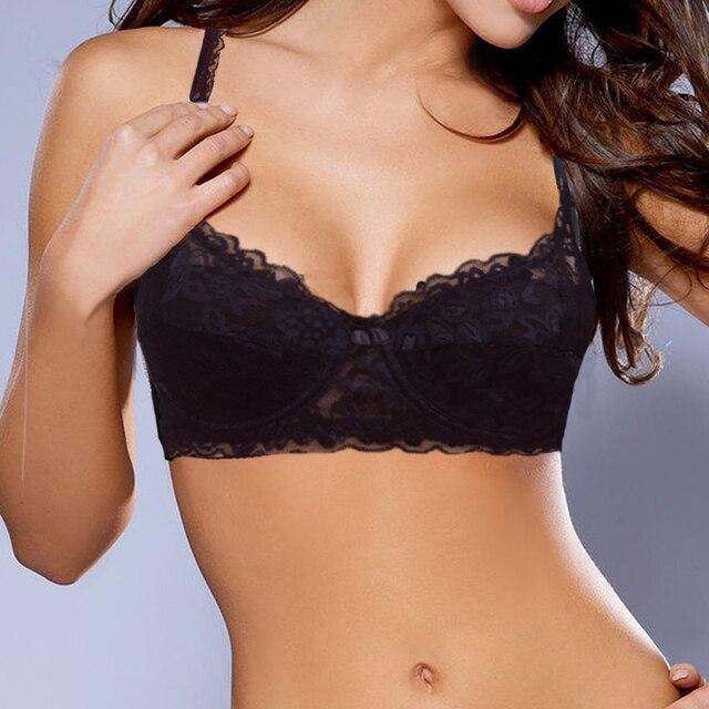 c8e1bc438d021 Ladies Secret Hot thin underwear bra Bralette Women Sexy BH plus size  adjustable bras breast Reduction B C D DD E F 34-44
