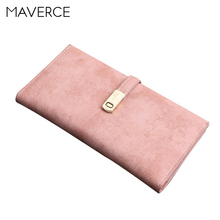 8 Color Korean style Women Wallets Stylish simplicity hasp Women's Purse long Design zipper Ladies Wallet PU Leather Card Hol