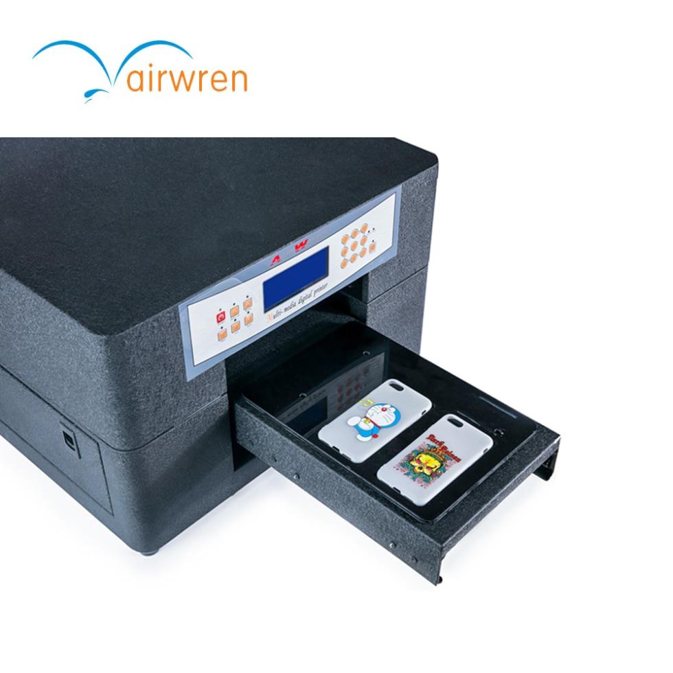 ⑤Teléfono Móvil impresora UV digital de bajo costo máquina de ...
