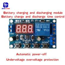 Pil şarj/deşarj modülü entegre voltmetre düşük gerilim/aşırı gerilim koruma zamanlama şarj/deşarj iletişim