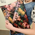 Mara's Dream New design personalized paintings fashion Flower rivets envelope bag clutch purse handbags casual shoulder bag