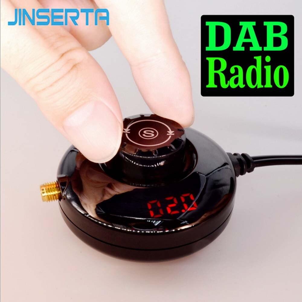 JINSERTA Portable DAB+ Tuner/Box For Android USB Digital